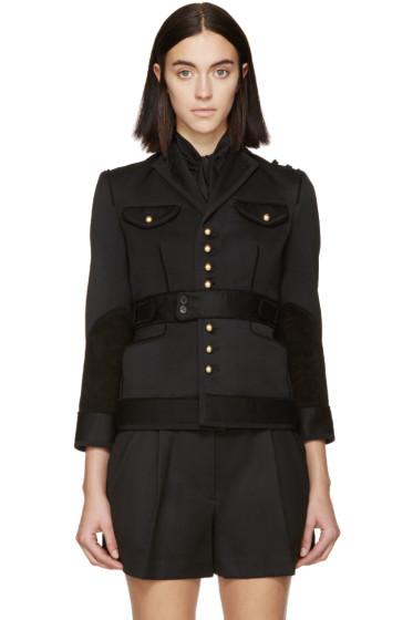 Dsquared2 - Black Wool Gaenor Jacket