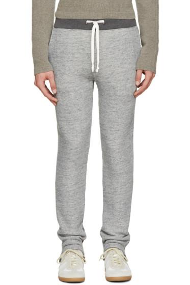 Maison Margiela - Grey French Terry Lounge Pants