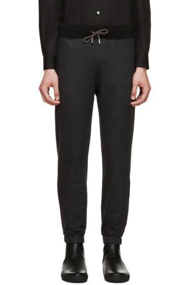 Christopher Kane - Grey Wool Drawstring Lounge Pants