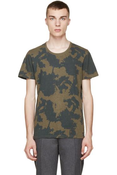 Robert Geller - Green Print Drifter T-Shirt