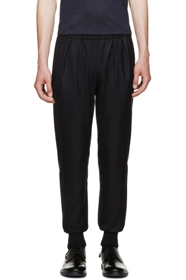 Paul Smith - Navy Twill Lounge Pants