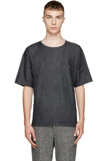 Paul Smith - Navy Oversized Denim T-Shirt