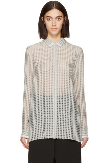 Damir Doma - Grey Wool Sibe Shirt