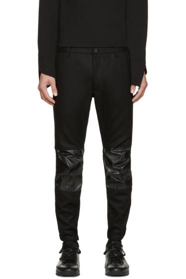 Comme des Garçons Shirt - Black Wool Broadcloth Trousers