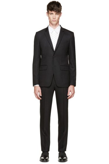 Givenchy - Black Wool Suit