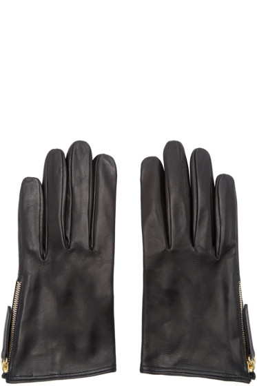 Want Les Essentiels - Black Madeleine Short Gloves