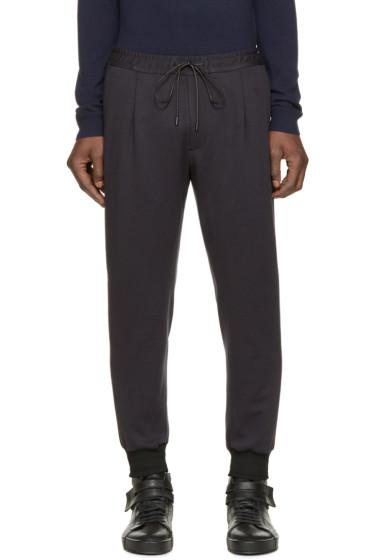 Juun.J - Navy & Black Lounge Pants