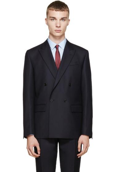 Marni - Navy Wool Twill Blazer