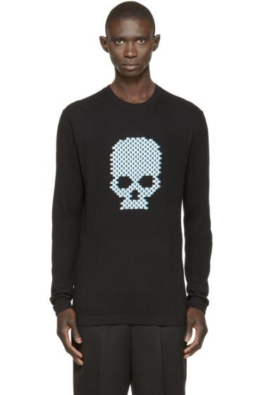 Markus Lupfer - Black Skull Thomas Sweater