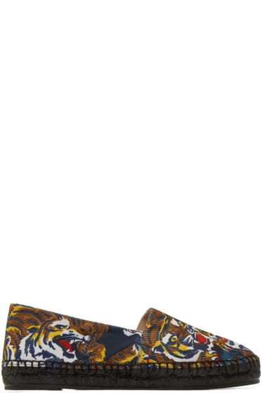 Kenzo - Multicolor Flying Tiger Espadrilles