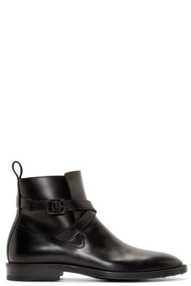 Kenzo - Black Leather Gorillaz Boots