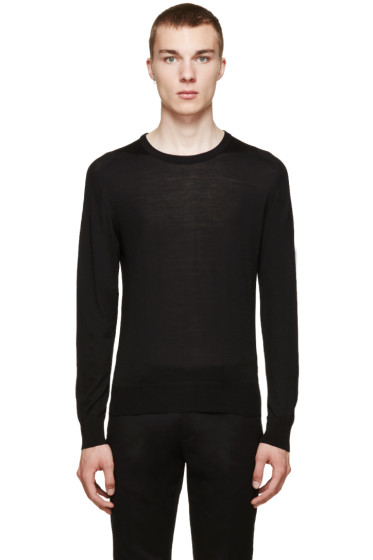 Versace - Black Light Wool Sweater