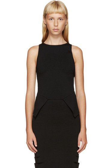 Dion Lee - Black Sleeveless Top
