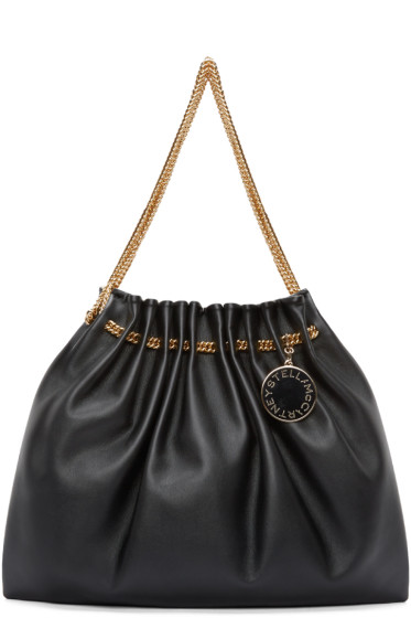 Stella McCartney - Black Chain Hobo Bag