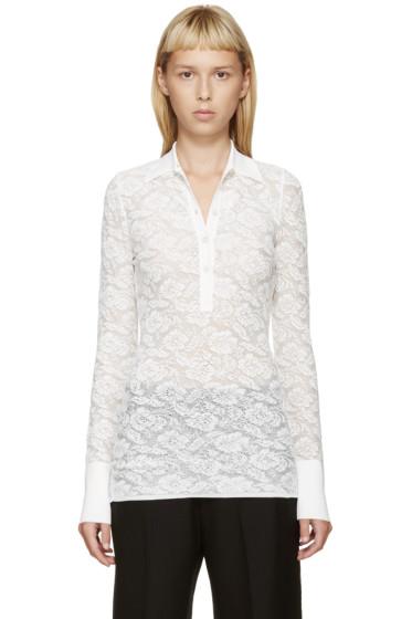 Stella McCartney - White Lace Polo