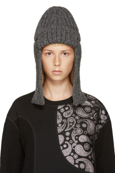 Stella McCartney - Grey Merino Fisherman's Hat
