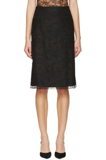 Nina Ricci - Black Lace Skirt