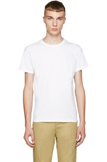 Visvim - White Wave Flag T-Shirt