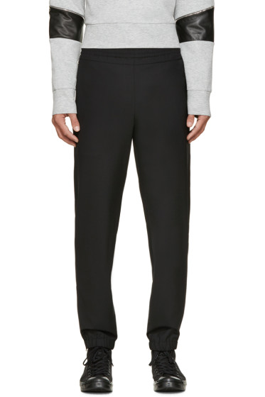 Tim Coppens - Black Wool Lux Lounge Pants