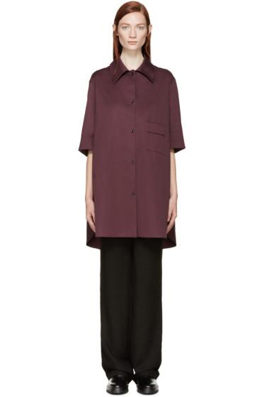 Yang Li - Plum Oversized Shirt