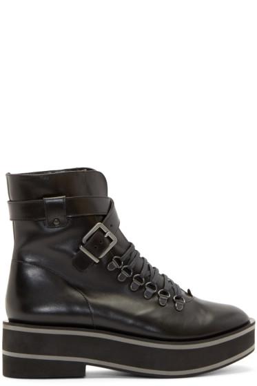 Robert Clergerie - Black Platform Irma Boots