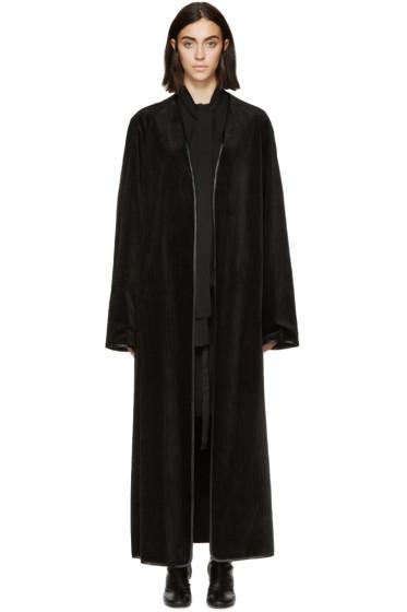 Haider Ackermann - Black Corduroy Coat