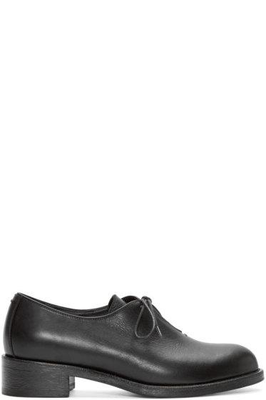 Haider Ackermann - Black Leather Derbys