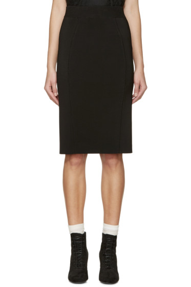 Burberry London - Black Knit Skirt