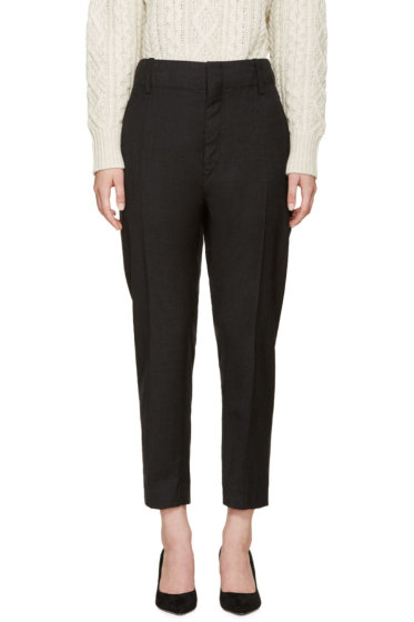 Isabel Marant Etoile - Grey Relaxed-Fit Senda Trousers