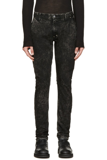 Diet Butcher Slim Skin - Black Stonewashed Jeans
