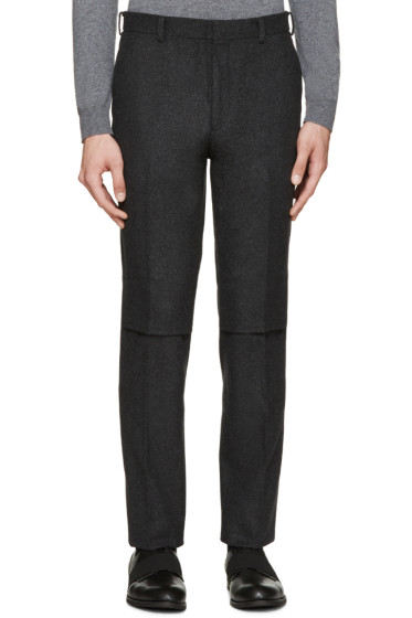 Johnlawrencesullivan - Charcoal Wool Trousers