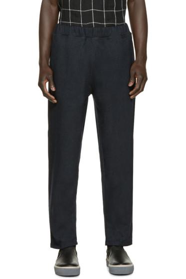 Etudes - Black Endless Wool Trousers