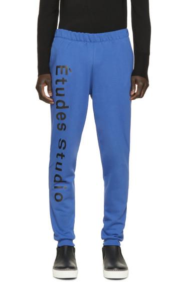 Etudes - Blue Etoile Pants