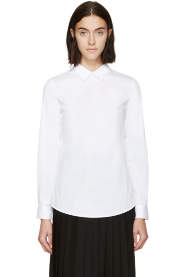Harmony - White Reversed Claire Shirt