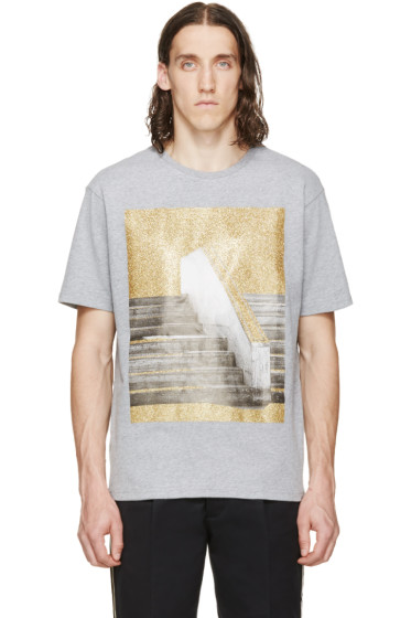 Palm Angels - Grey Stairs T-Shirt