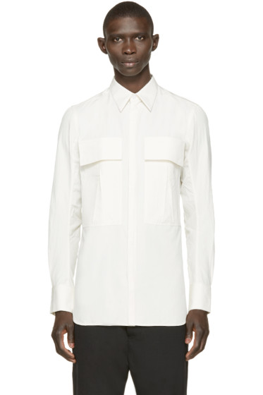 Song for the Mute - Off-White Military Pocket Shirt