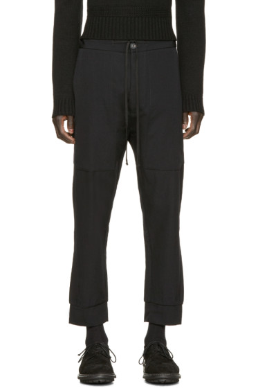 Song for the Mute - Black Patch Pocket Lounge Pants