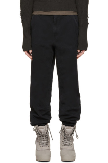 YEEZY Season 1 - Black Twill Worker Pants