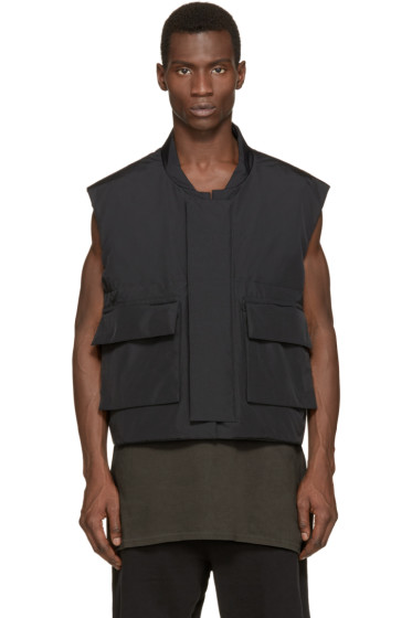 YEEZY Season 1 - Black Nylon Vest