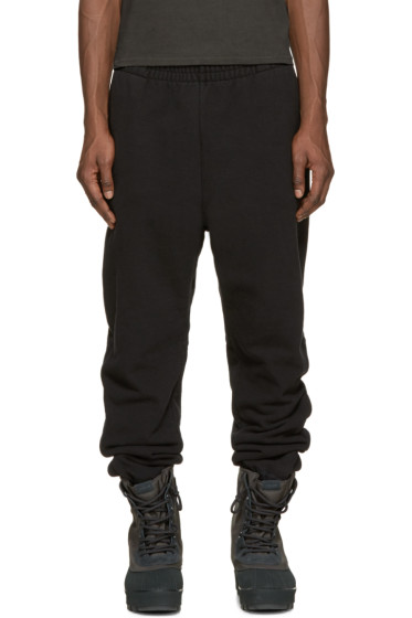 YEEZY Season 1 - Black Cuffed Lounge Pants