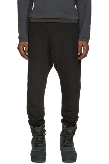 YEEZY Season 1 - Black Sarouel Lounge Pants