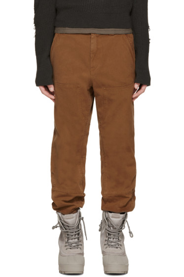 YEEZY Season 1 - Camel Twill Worker Jeans