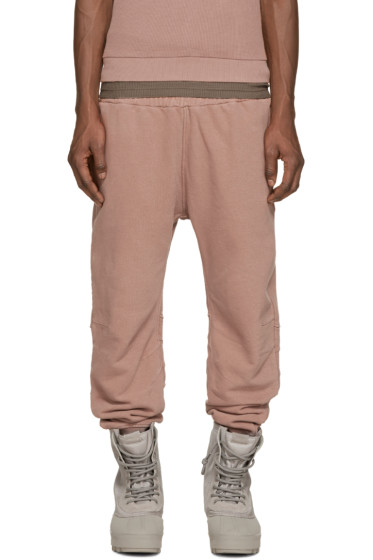 YEEZY Season 1 - Rose French Terry Lounge Pants