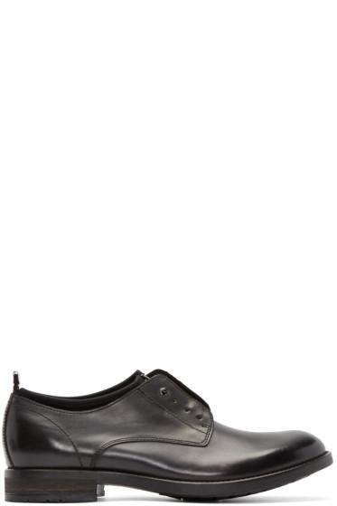 Diesel - Black Leather D-LOWYY NEO Derbys