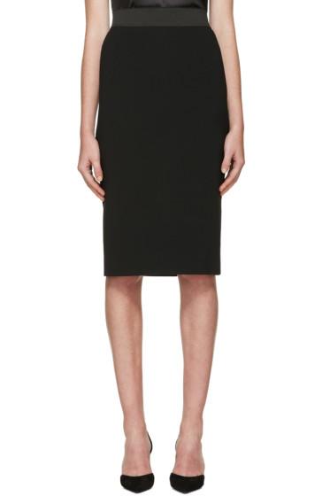 Dolce & Gabbana - Black Pencil Skirt