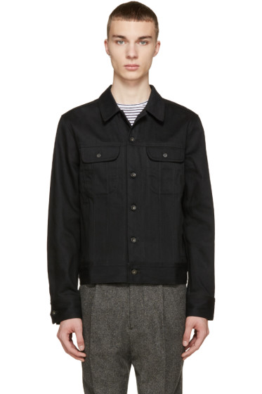 Rag & Bone - Black Twill Denim Jacket