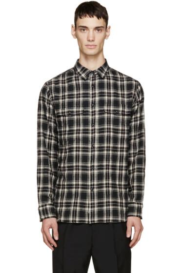 Rag & Bone - Black & Cream Plaid Jack Shirt