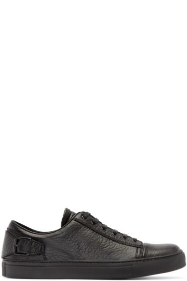 Belstaff - Black Leather Dagenham Sneakers