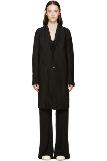 Rick Owens Drkshdw - Black Faun Coat