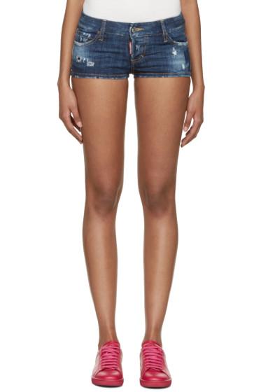 Dsquared2 - Indigo Denim California Shorts